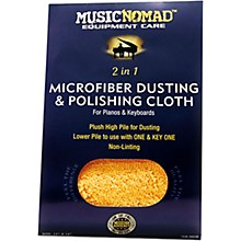 Music Nomad Microfiber Dusting & Polishing Cloth - Pianos & Keyboards
