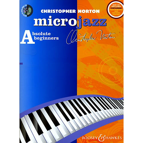 Hal Leonard Microjazz For Absolute Beginners New Edition For Piano (Book/CD)-thumbnail