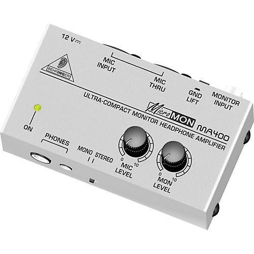 Behringer Micromon MA400 Headphone Amplifier-thumbnail