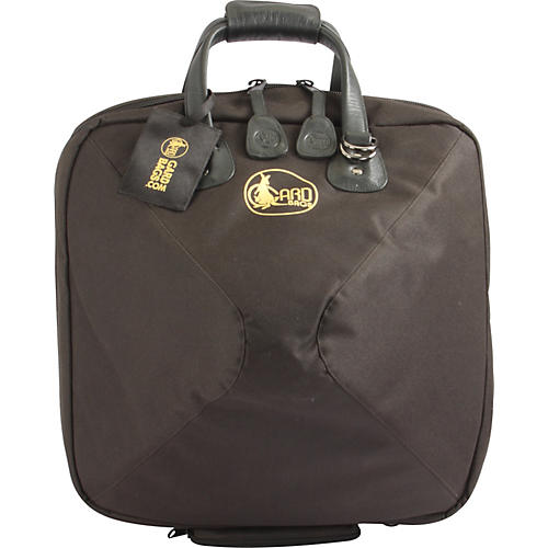 Gard Mid-Suspension Detachable Bell French Horn Gig Bag 42-MSK Black Synthetic w/ Leather Trim