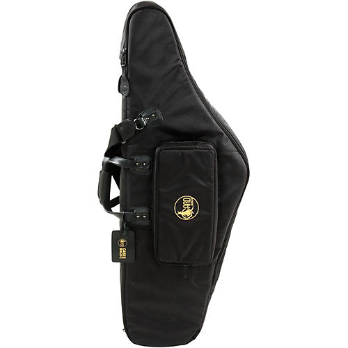 Gard Mid-Suspension EM Low Bb Baritone Saxophone Gig Bag 107-MSK Black Synthetic w/ Leather Trim
