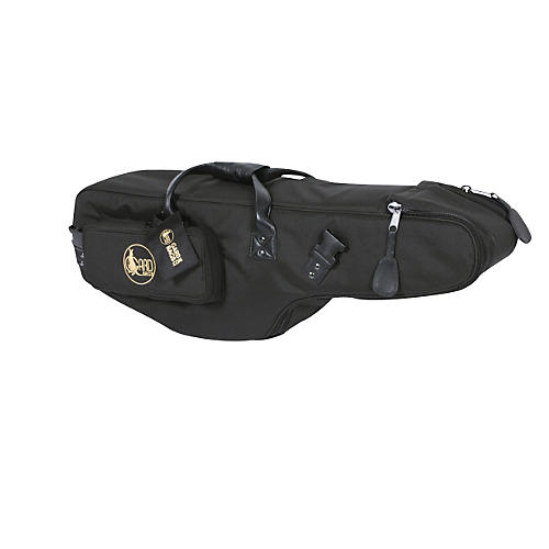 Gard Mid-Suspension EM Tenor Saxophone Gig Bag 105-MSK Black Synthetic w/ Leather Trim