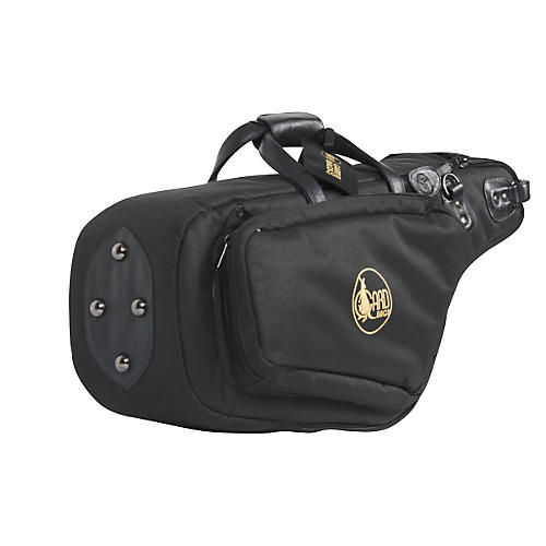 Gard Mid-Suspension EM Wide Neck Pocket Alto Saxophone Gig Bag 111-MSK Black Synthetic w/ Leather Trim