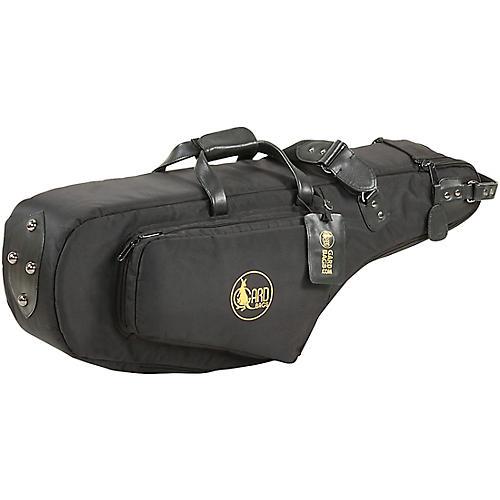 Gard Mid-Suspension EM Wide Neck Pocket Tenor Saxophone Gig Bag 112-MSK Black Synthetic w/ Leather Trim