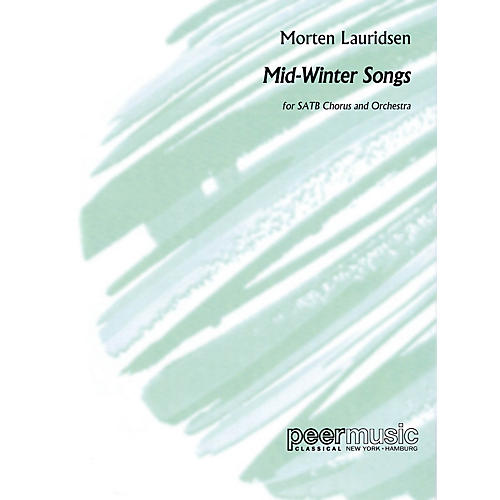 Peer Music Mid-Winter Songs (Study Score) Score Composed by Morten Lauridsen