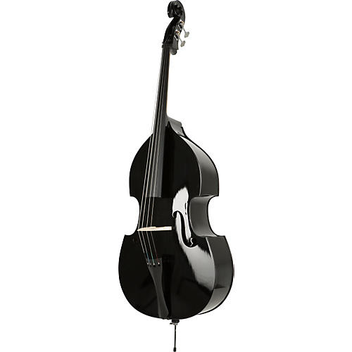 Florea Midnight Double Bass Outfit  3/4 size black