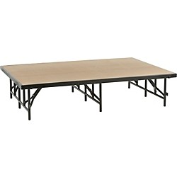 Midwest Folding Products 4x6 Single-Height Portable Stage & Seated Riser (4616H)