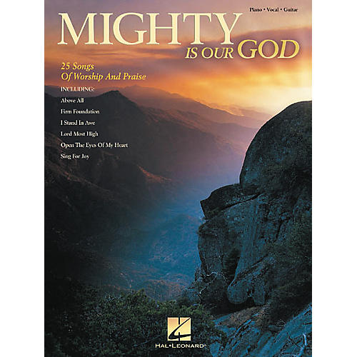 Hal Leonard Mighty Is Our God Piano, Vocal, Guitar Songbook