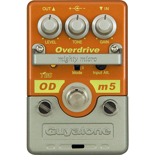 Guyatone Mighty Micro Series ODm5 Overdrive Guitar Effects Pedal-thumbnail