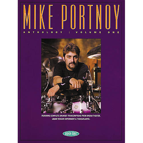 Hudson Music Mike Portnoy Anthology Volume One Book