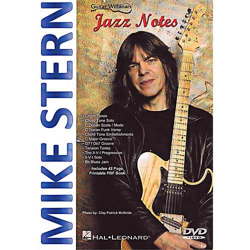 Hal Leonard Mike Stern - Jazz Notes DVD
