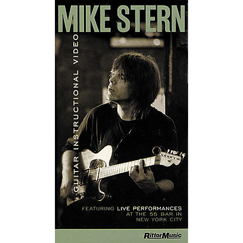 Hal Leonard Mike Stern VHS Video