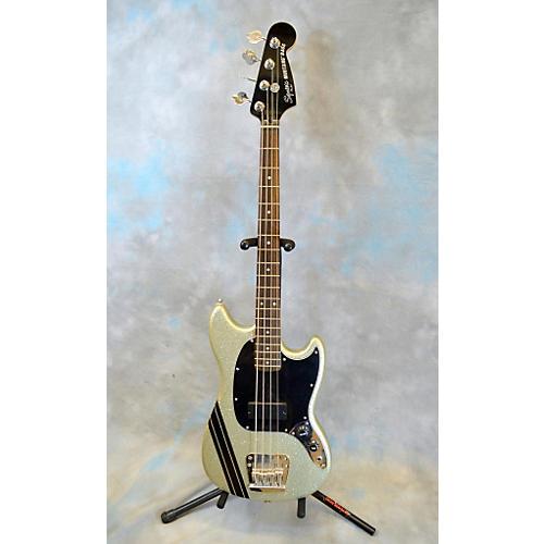 Squier Mikey Way Signature Mustang Electric Bass Guitar-thumbnail