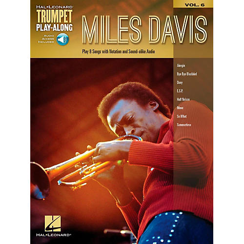 Hal Leonard Miles Davis - Trumpet Play-Along Vol. 6 Book/Audio Online