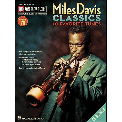 Hal Leonard Miles Davis Classics Jazz Play-Along Volume 79 Book/CD-thumbnail