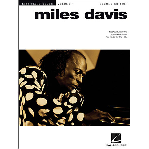 Hal Leonard Miles Davis Jazz Piano Solos