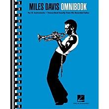 Hal Leonard Miles Davis Omnibook For B-Flat Instruments (Bb)