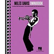 Hal Leonard Miles Davis Omnibook For Bass Clef Instruments