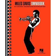 Hal Leonard Miles Davis Omnibook For C Instruments