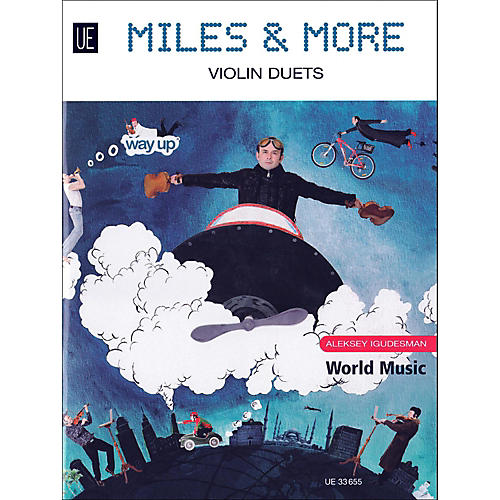 Carl Fischer Miles & More Violin Duets Book-thumbnail