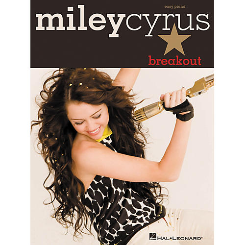 Hal Leonard Miley Cyrus - Breakout For Easy Piano-thumbnail