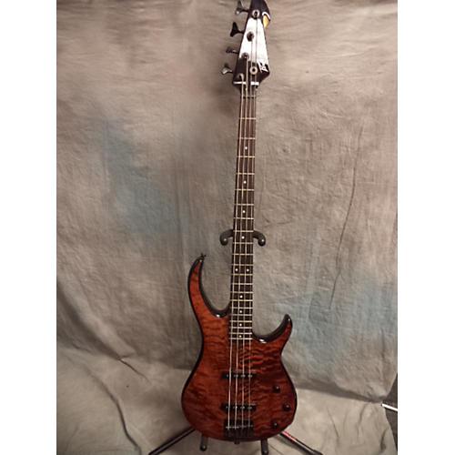 Peavey Millenium Flamed Brown Electric Bass Guitar-thumbnail