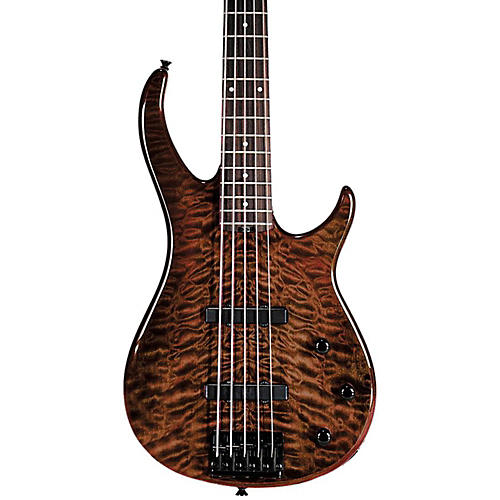 Peavey Millennium BXP 5-String Bass Guitar Quilt Top Tiger Eye