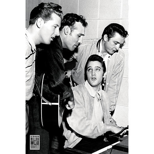 Axe Heaven Million Dollar Quartet - Wall Poster