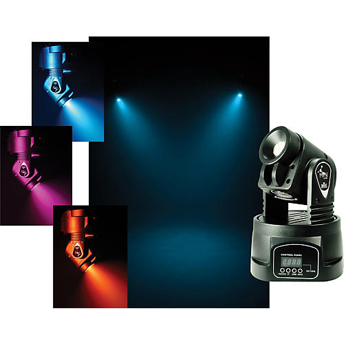 CHAUVET DJ Min Wash RGBW Quad Color LED Moving Yoke Fixture-thumbnail