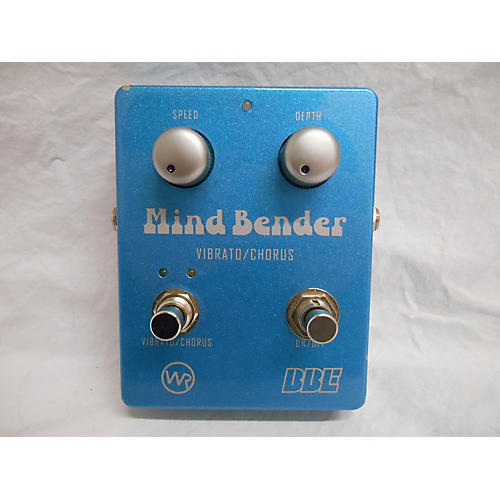 BBE Mind Bender Vibrato/Chorus Effect Pedal-thumbnail