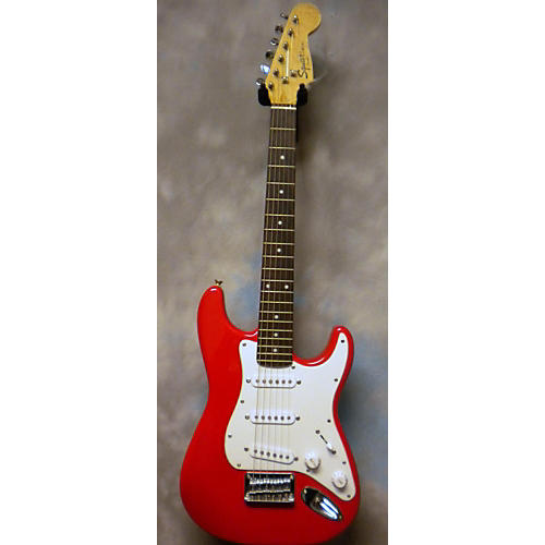 Squier Mini Affinity Stratocaster Red Electric Guitar