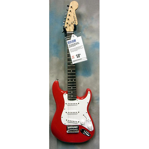 Squier Mini Affinity Stratocaster Torino Red Electric Guitar-thumbnail