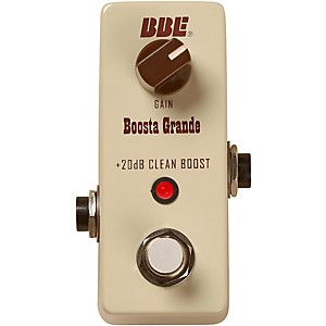 BBE Mini Boosta Grande Clean Boost Pedal by BBE