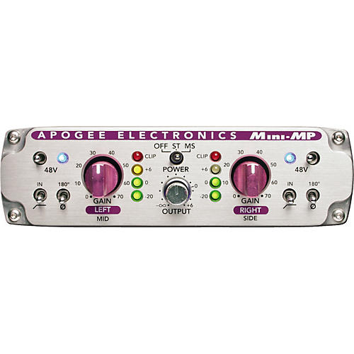 Apogee Mini-MP 2-Channel Analog Mic/Instrument Preamp