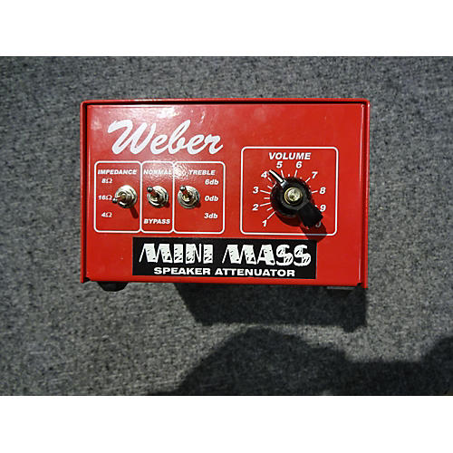 Weber Mini Mass Effect Pedal