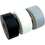 American Recorder Technologies Mini Roll Gaffers Tape 1 In x 8 Yards - Black, White, Gray