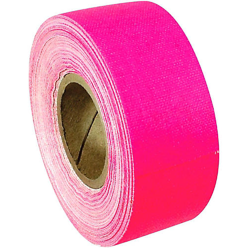 American Recorder Technologies Mini Roll Gaffers Tape 1 In x 8 Yards Florscent Colors Neon Pink