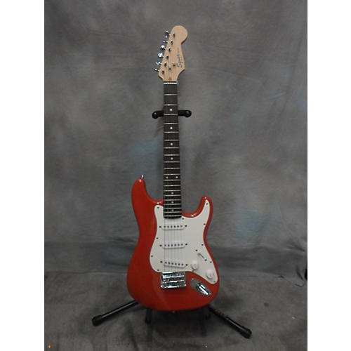 In Store Used Mini Strat Fiesta Red Electric Guitar-thumbnail