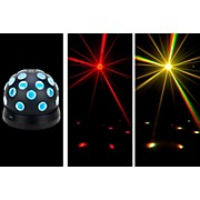 Mini Tri Ball II Rotating LED Color Ball