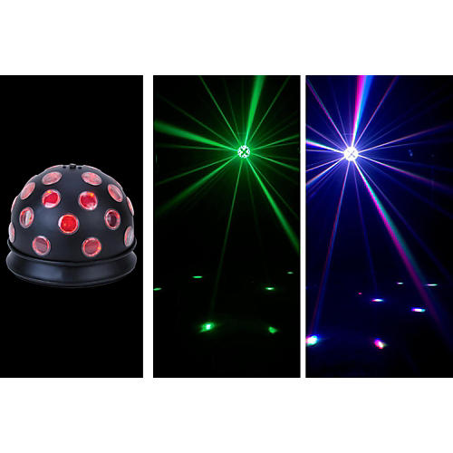 American DJ Mini Tri Ball Light Effect-thumbnail