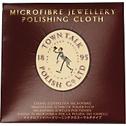 Town Talk Polish Mini Wallet Silver Polishing Cloth