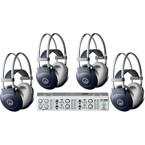 AKG MiniAMP/K77 Headphone Four Pack