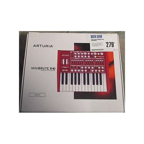 Arturia MiniBrute Red Synthesizer