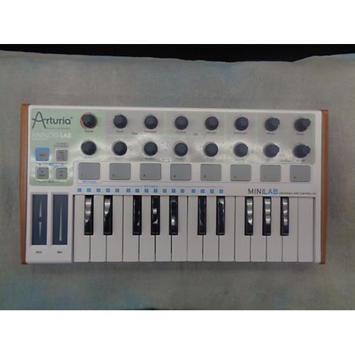 Arturia MiniLab Mini Hybrid MIDI Controller