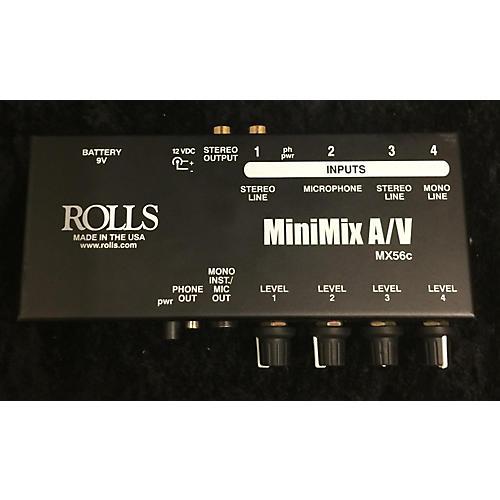 Rolls MiniMIX A/v Line Mixer