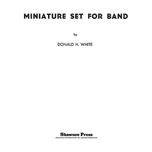 Shawnee Press Miniature Set for Band Concert Band Arranged by Donald