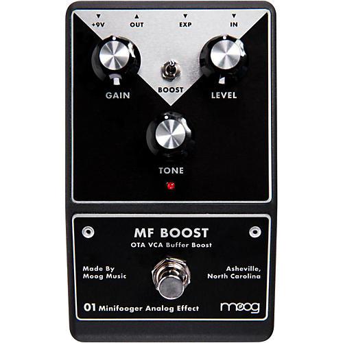 Moog Minifooger Boost Guitar Effects Pedal