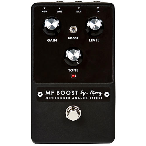 Moog Minifooger Boost Guitar Effects Pedal-thumbnail