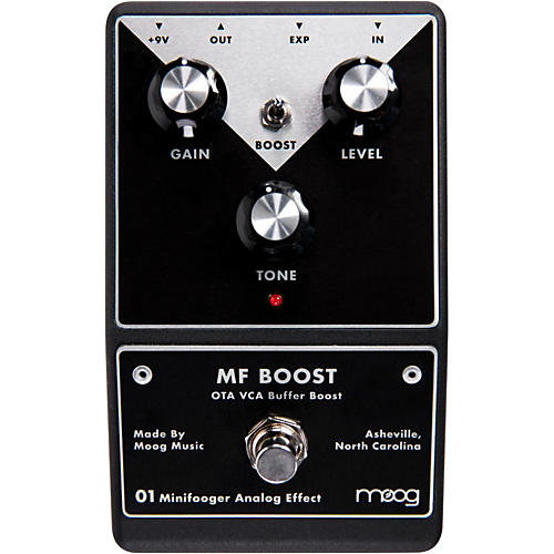 Moog Minifooger Boost Guitar Effects Pedal