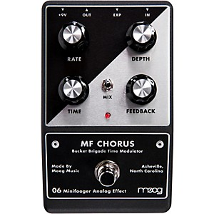Moog Minifooger Chorus Guitar Effects Pedal by Moog